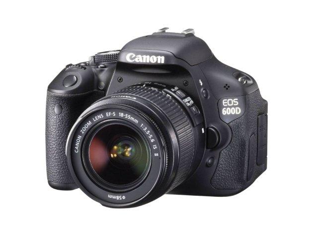 Canon EOS 600D SLR Vorderansicht