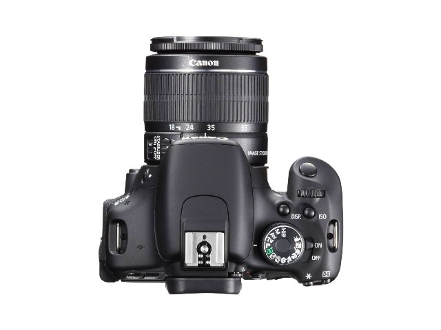 Canon EOS 600D SLR von oben