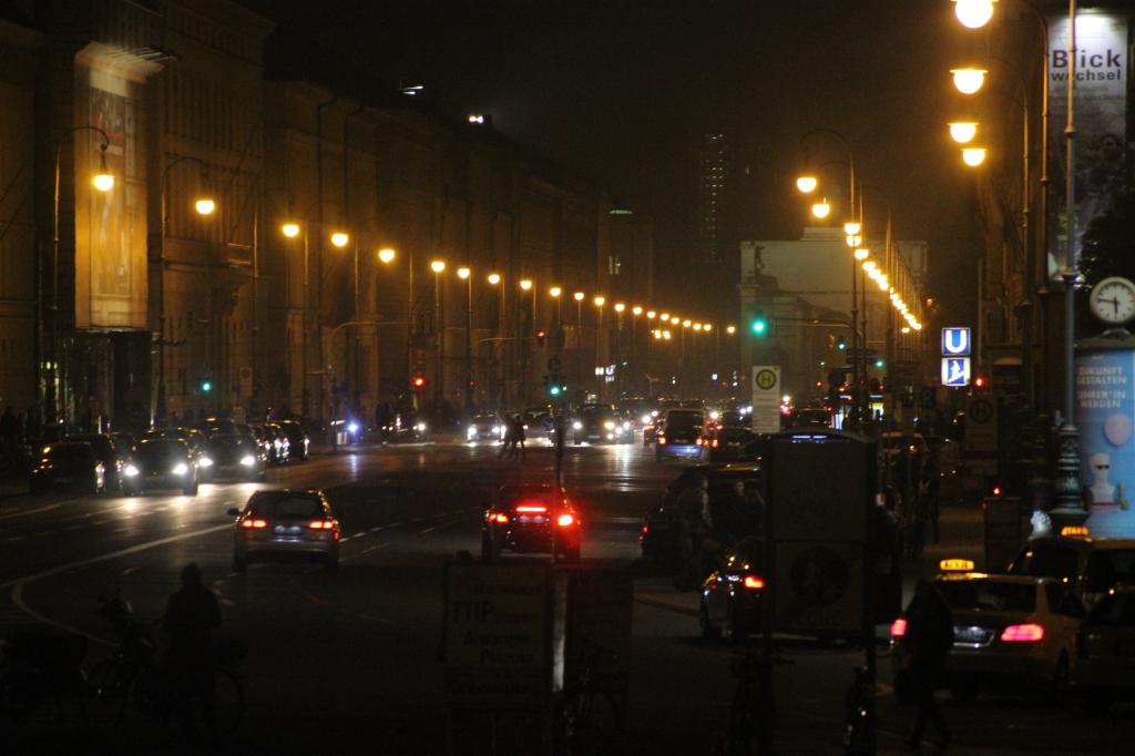 Nachtbilder von München
