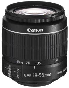 Canon EF-S 18-55mm 13.5-5.6 IS II Universalzoom-Objektiv