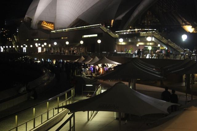 Opera House Terasse