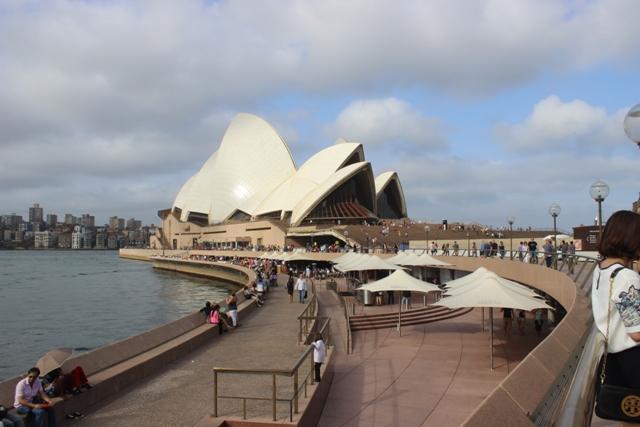 Opera House bei schlechtem Wetter