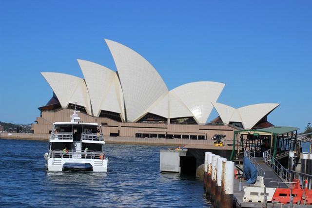 Opera House von der Fähre