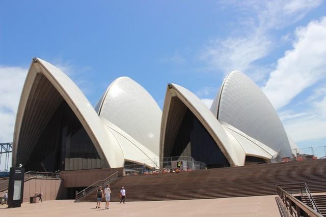 Opera House von rechts