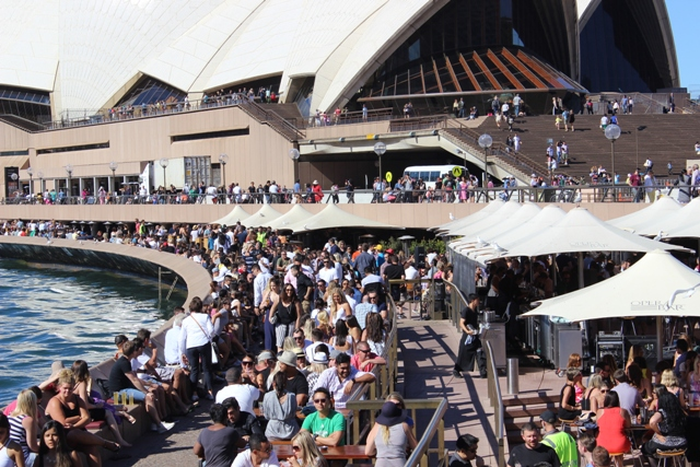 Terasse mit Bar in Sydney